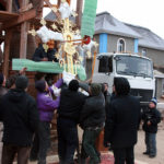 Воздвижение креста в Никулино