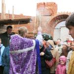 Водосвятный молебен в верхнем храме