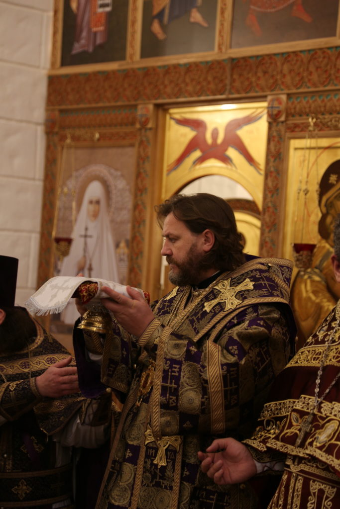 Великое освящение храма в Елисаветенском хосписе